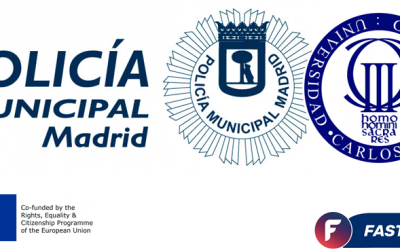ALUMNOS DE LA UC3M REALIZAN SUS PRÁCTICAS EN LA POLICÍA MUNICIPAL DE MADRID