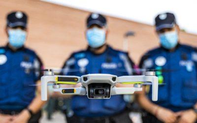 POLICÍA MUNICIPAL DE MADRID, PIONEROS EN EL USO DE DRONES