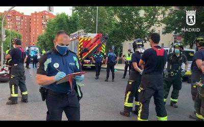 El Cuerpo de Bomberos del Ayto. de Madrid estrena Sección de Relaciones Internacionales